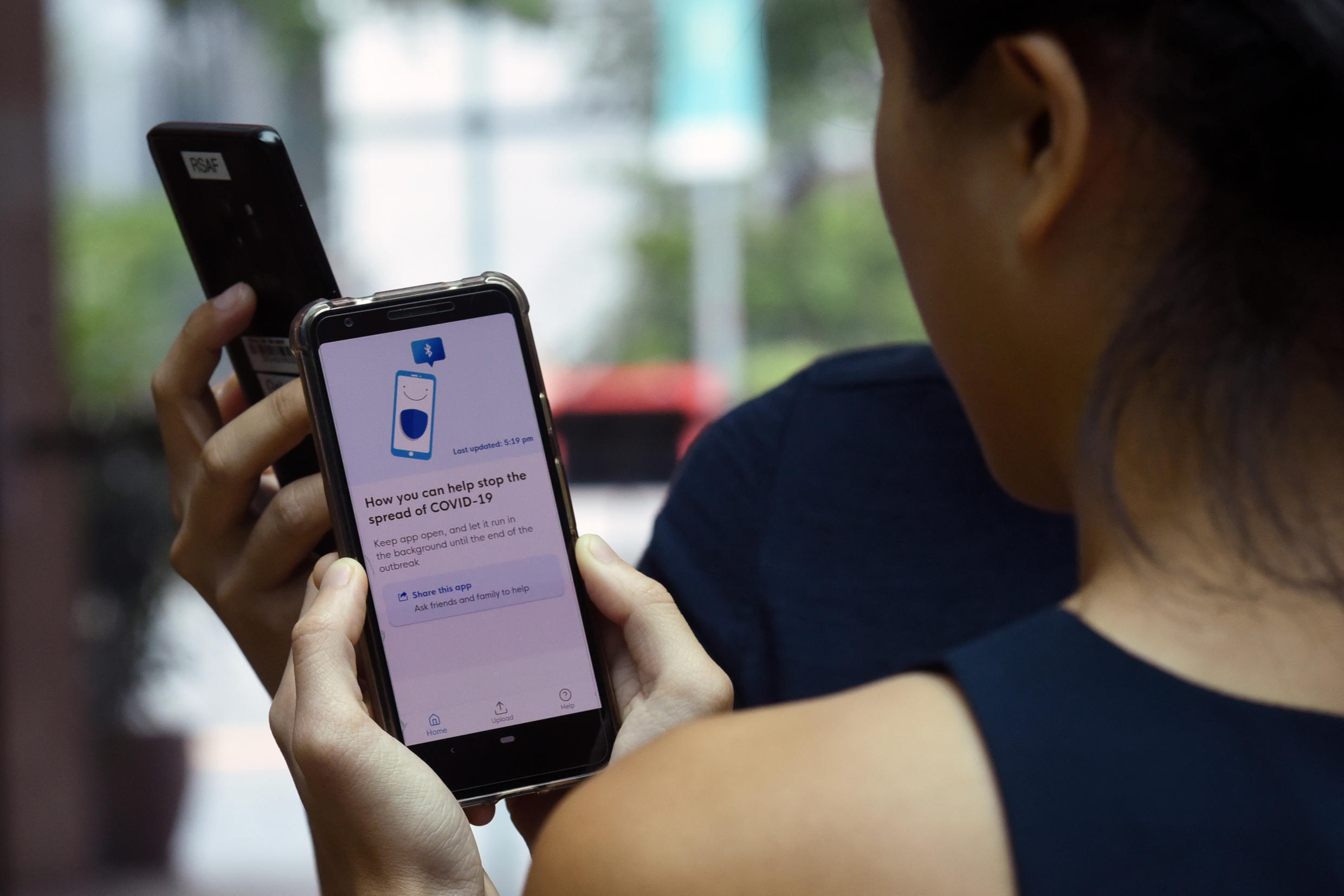 Smartphones can help the effort to contain the coronavirus, but do we have to let Big Brother look over our shoulder?