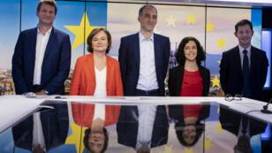 Le débat des têtes de liste aux élections européennes était animé par Caroline de Camaret et Frédéric Rivière.