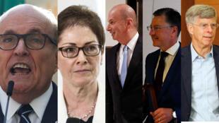 Estos son los cinco personajes claves hasta ahora en el juicio político por destitución que adelanta la Cámara de Representantes contra el presidente Trump.