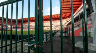 El estadio del equipo de fútbol belga Standard de Lieja, en una imagen del 29 de enero de 2020