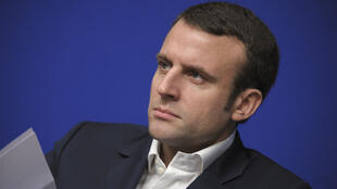 Le ministre français de l'Économie Emmanuel Macton
