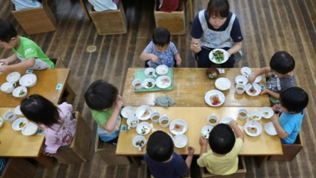 School lunches keep Japan's kids topping nutrition lists