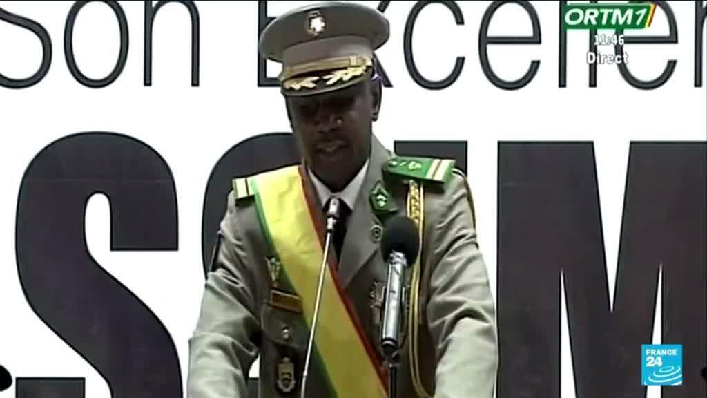 2021-06-07 14:01 Mali : le colonel Assimi Goïta officiellement investi président de la transition