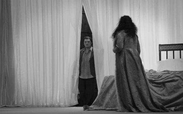 Le ténor letton Aleksandrs Antonenko et la mezzo géorgienne Anita Rachvelishvili dans les rôles de Samson et Dalila, à l'Opéra de Paris.