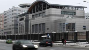Le siège du GRU, surnommé l'Aquarium, se trouve au nord-ouest de Moscou, à côté de l'ancien aéroport central de la capitale russe.