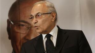 Ahmed Chafik, alors candidat à l'élection présidentielle égyptienne, en juin 2012.