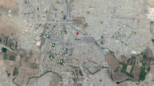 La ville syrienne de Hassaké, en Syrie, menacée par l'EI et défendue par les combattants kurdes, entre autres.
