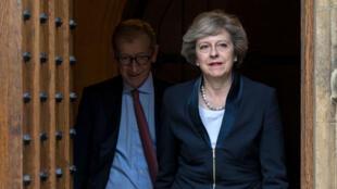 تيريزا ماي رئيسة الوزراء البريطانية الجديدة