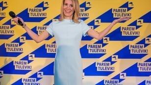 Kaja Kallas wooed voters with business-friendly promises to cut taxes and unemployment insurance premiums to aid job creation
