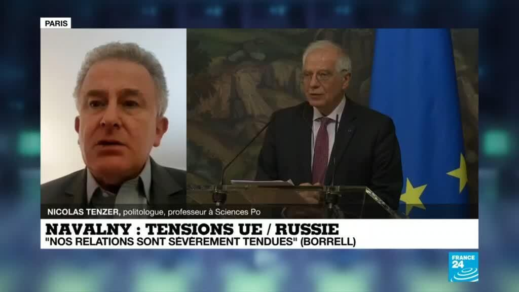2021-02-05 22:01 Emprisonnement d'A. Navalny : tensions UE/Russie