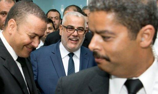 عبد الإله بن كيران رئيس الحكومة المغربية وأمين عام حزب العدالة والتنمية الفائز في الانتخابات