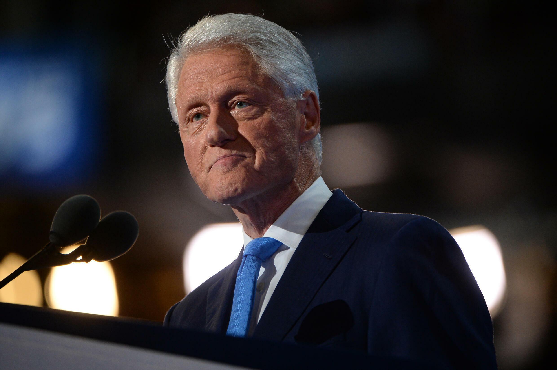 الرئيس الأميركي الأسبق بيل كلينتون في 26 تموز/يوليو 2016