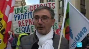 2020-01-16 15:00 Réforme des retraites en France : plusieurs manifestations à travers le pays