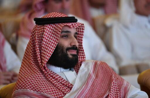 صورة لولي العهد السعودي محمد بن سلمان تعود إلى 23 تشرين الأول/اكتوبر 2018، في الرياض.