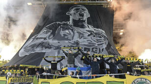 Les supporters nantais ont rendu hommage à l'attaquant argentin Emilianio Sala, mercredi 30 janvier.