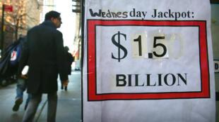 Selon la loterie, il y avait une chance sur 292 millions de  trouver la bonne combinaison.