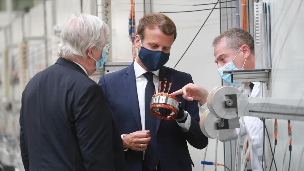 Soutien au secteur automobile : Macron mise sur les véhicules propres