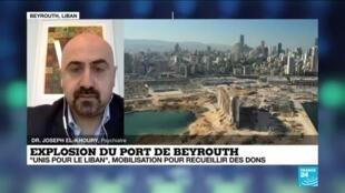 2020-10-01 13:17 Explosion du port de Beyrouth : mobilisation pour recueillir des dons