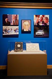 Portrait de Vladimir Poutine par George W. Bush