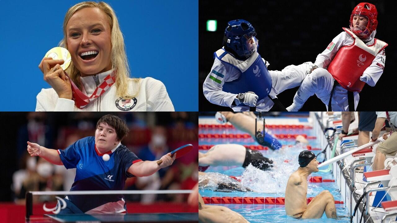 montage Jeux paralympiques