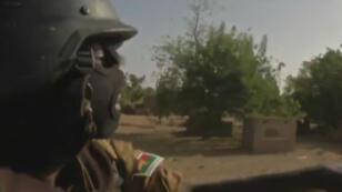 Une patrouille de la gendarmerie au Burkina Faso.