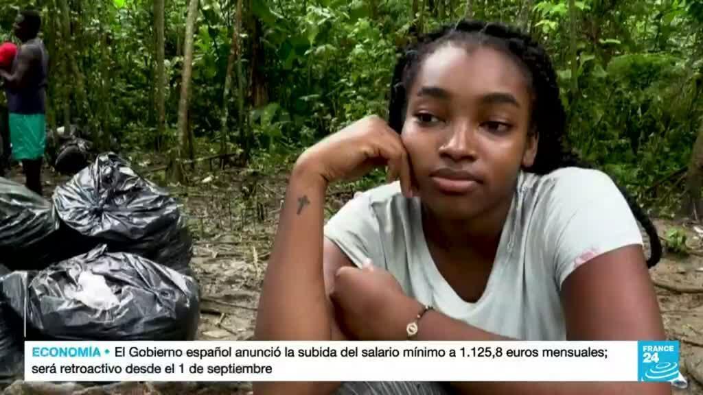 2021-09-28 14:41 Los peligros de atravesar el Tapón del Darién para los migrantes que buscan llegar a EE. UU.