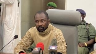 Le colonel Goita, nouvel homme fort de Bamako