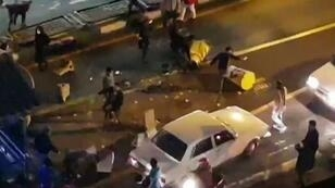 أعمال عنف خلال مظاهرة في إيران في 30 كانون الأول/ديسمبر 2017
