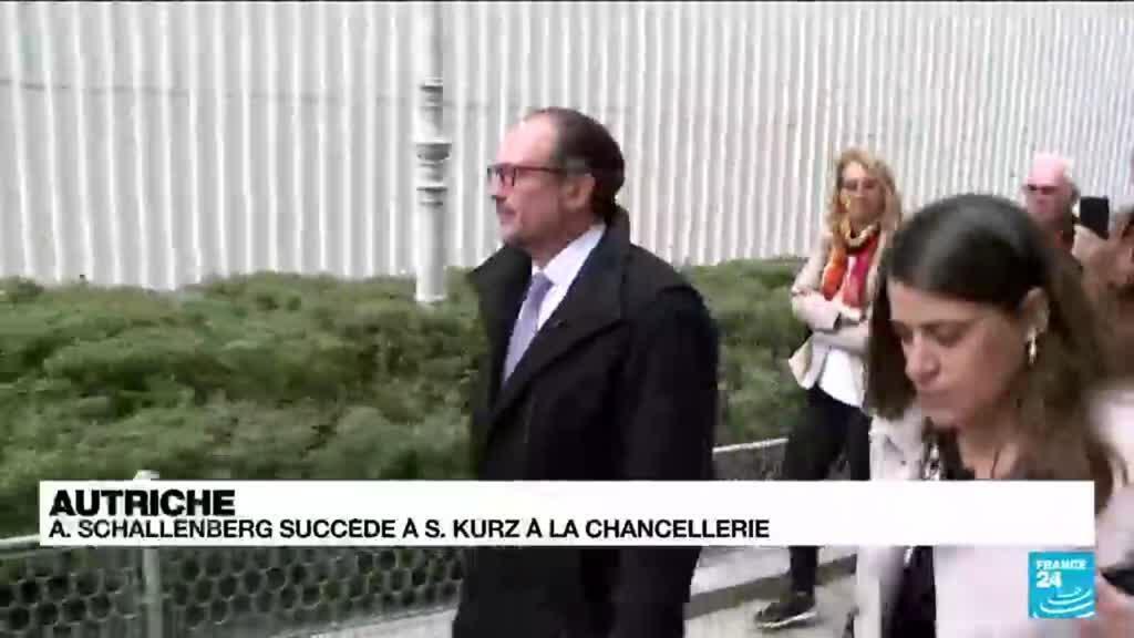 2021-10-11 13:43 Autriche : Schallenberg succède à Kurz à la chancellerie