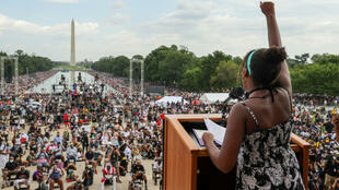 Washington protest against racism