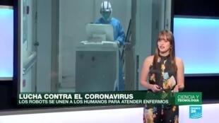 El objetivo principal de que los robots se unan a la lucha contra el coronavirus es reducir el contacto entre los enfermos y el personal médico.