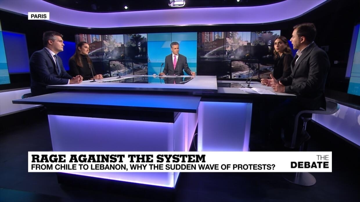 The Debate - Rage against the system: From Chile to Lebanon, why the suddden wave of protests?