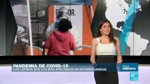 Los latinos, los más afectados por el Covid-19 en EE. UU.