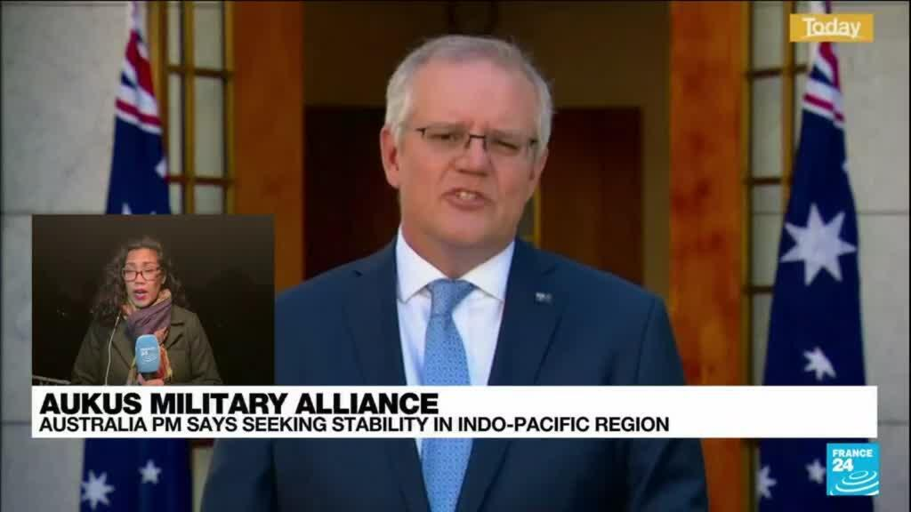 2021-09-17 14:02 Australian PM says he made clear to France possibility of scrapping subs deal, Paris denies