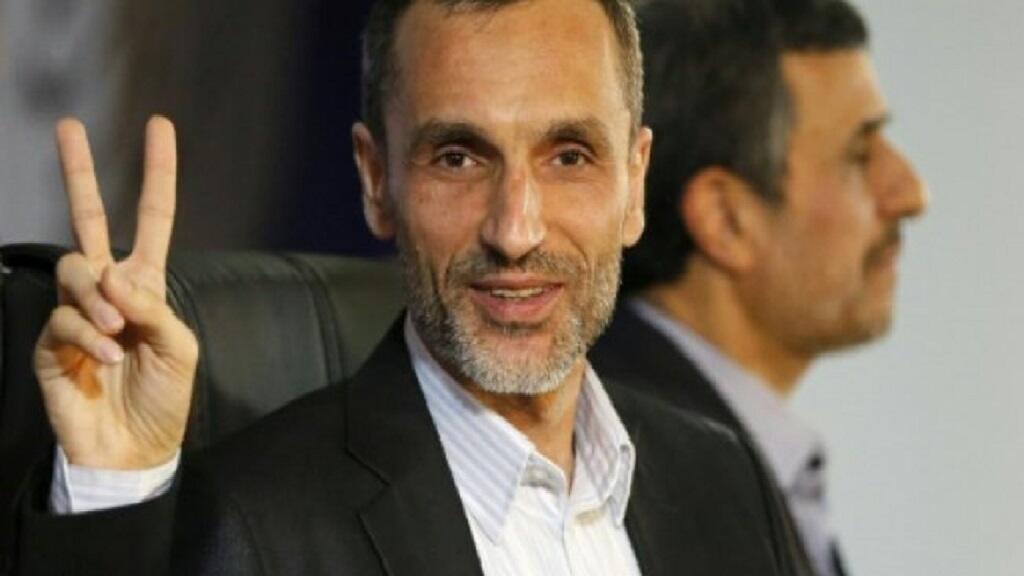 صورة من الأرشيف لنائب الرئيس الإيراني السابق حميد بقائي في 4 نيسان/أبريل 2017.