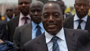 Joseph Kabila, élu en 2011.