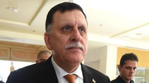 Le Premier ministre libyen, Fayez al-Sarraj, le 22 mars 2016 à Tunis.