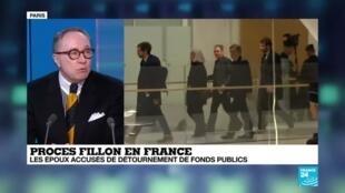 2020-02-26 18:19 Procès Fillon en France : accusation de détournement de fonds publics
