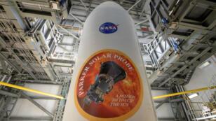 La sonda solar Parker lista para iniciar una misión para esclarecer los misterios que esconde el Sol. Estación de la Fuerza Aérea de Cabo Cañaveral, Florida, EE. UU., 8 de agosto de 2018.