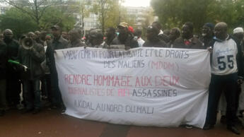 Les Maliens de France réunis vendredi devant RFI