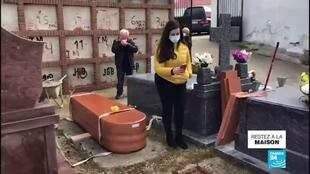 2020-04-02 13:02 Coronavirus en Espagne : Les cérémonies funéraires reportées à la fin de l'état d'alerte