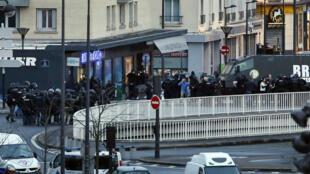 La prise d'otages a eu lieu dans un supermarché casher, vendredi 9 janvier, porte de Vincennes.