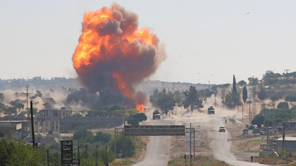 Israeli air strike In Syria's Homs province kills four, says monitor
