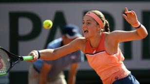 La championne en titre Jelena Ostapenko a perdu dès le premier tour lors de l'édition 2018 de Roland-Garros.