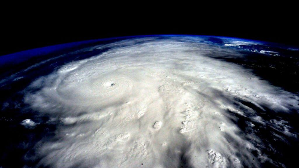 Vue de l'espace de l'ouragan Patricia, le 23 octobre 2015.