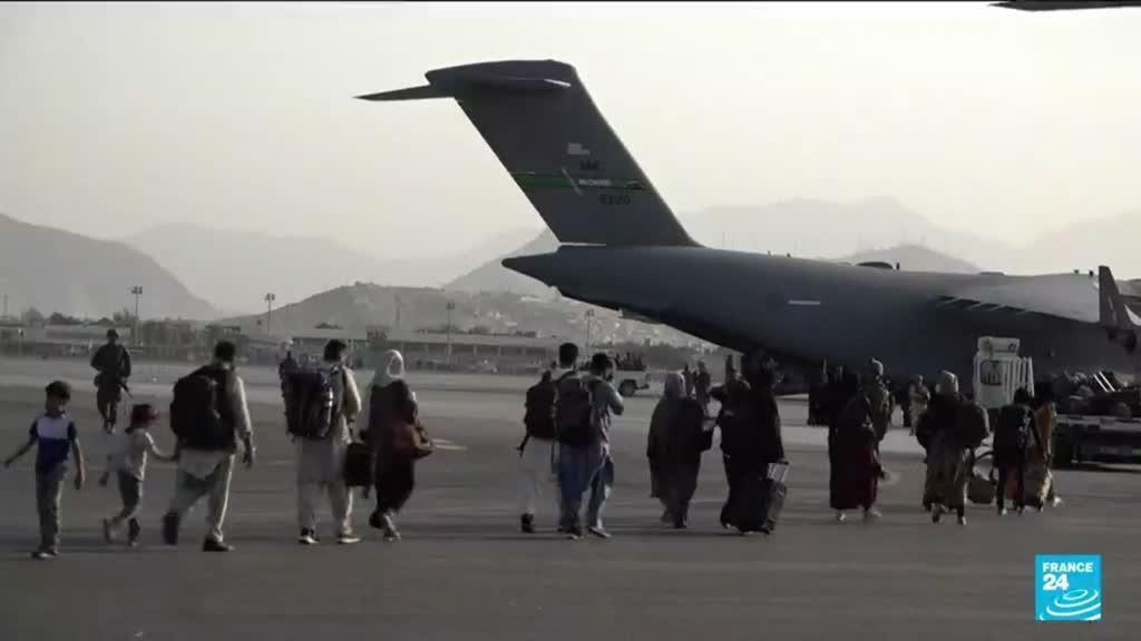 2021-08-24 10:01 Les Taliban au pouvoir en Afghanistan : un G7 de crise avant la date butoir d'évacuation