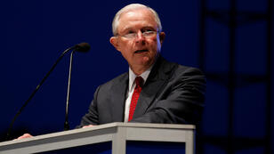 El fiscal general de EE. UU., Jeff Sessions, en Washington, el 13 de mayo de 2018.