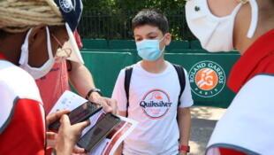 Roland-Garros pass sanitaire