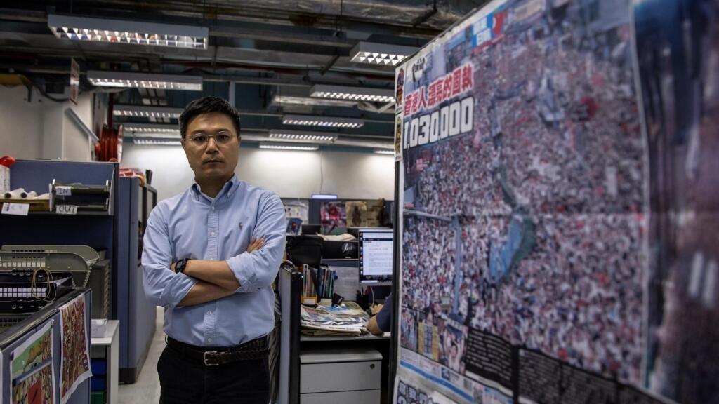 Cinq responsables du journal pro-démocratie Apple Daily arrêtés à Hong Kong