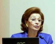 L'ancienne Première dame Suzanne Moubarak